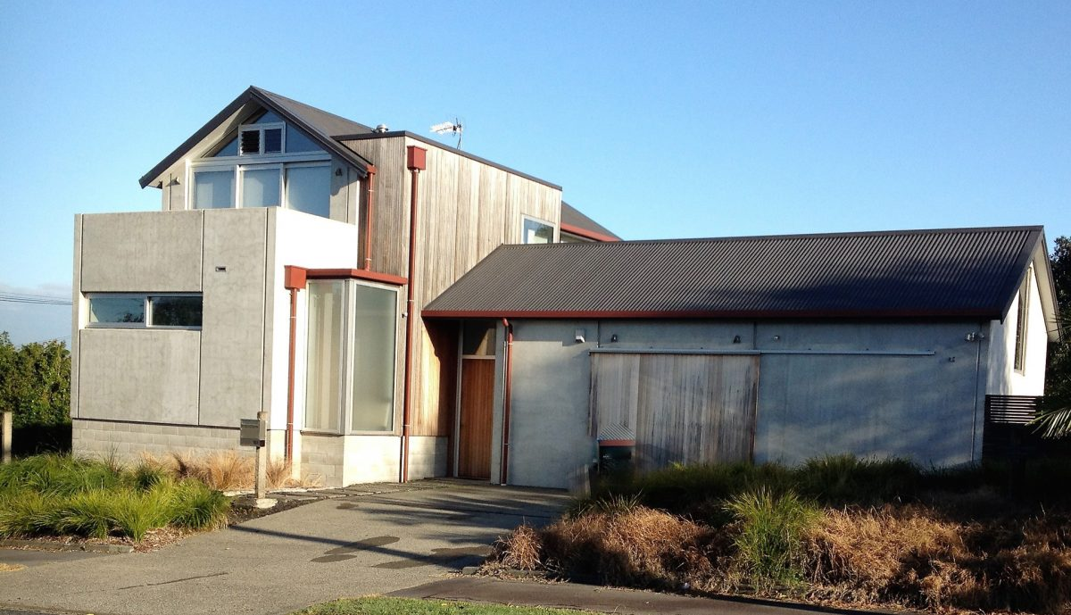 precast concrete cladding for waterview house