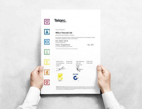Wilco Precast achieves Telarc Registration