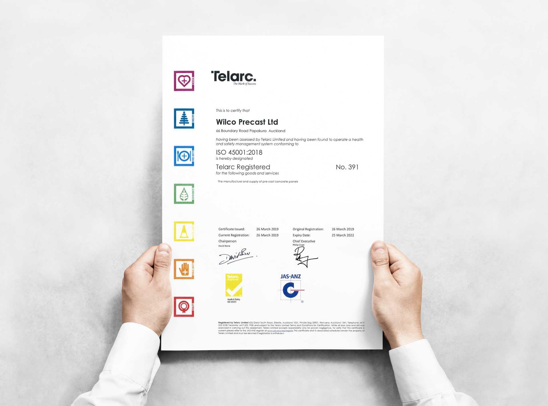 telarc registration
